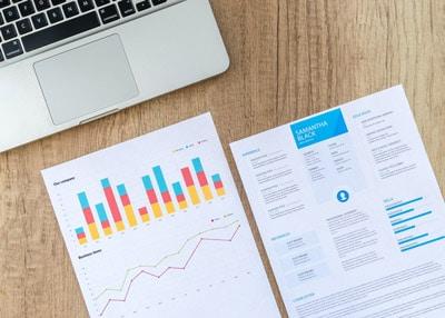 Steigende Statistiken als Zeichen von Karriereerfolg